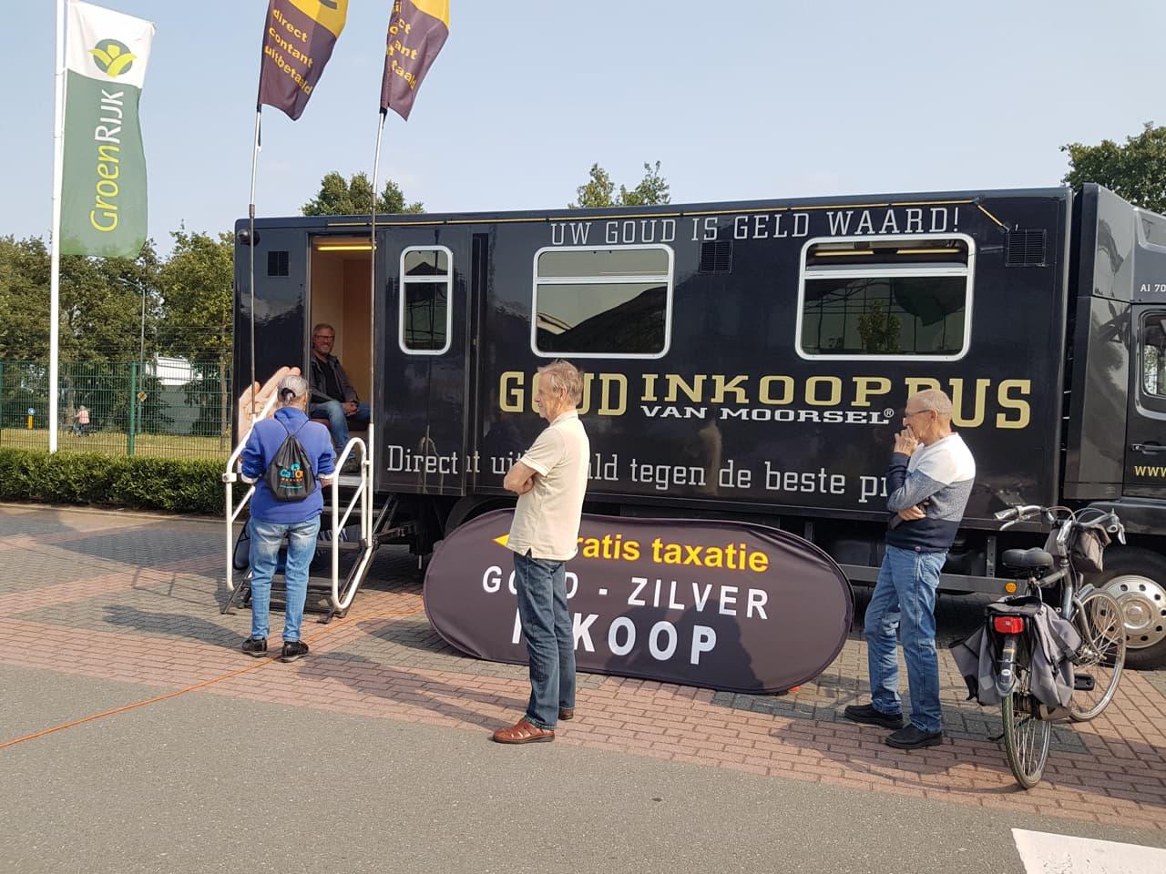 Goud Inkoop Bus dé plek om goud te verkopen